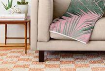 casa / Inspirações de decor para casa, quarto, cozinha, pisos, itens de decoração, cores.