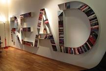 Bookshelves / by Lauri Arnold