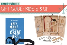 Gift Guides - kids (5 & up) / The best unique kids toys, gear, and gifts you'll find anywhere this holiday season - see them here on the board, or at SmallforBig.com where there's a Gift Guide for every one and every age on your Christmas List!