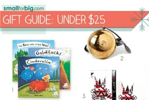 GIft Guides - Under $25 (Stocking Stuffers!) / The best unique kids toys, gear, and gifts you'll find anywhere this holiday season - see them here on the board, or at SmallforBig.com where there's a Gift Guide for every one and every age on your Christmas List!