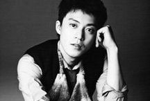 Inspiration: Oguri Shun / What can be said about the talented and lovely Oguri Shun? I first saw him in Crows and immediately felt in love with his charisma, then those hauntingly beautiful eyes which can look both unforgiving and gentle in equal measure. Poignant, athletic, wild child... a truly inspiring, many faceted beauty. Love him.... I do.