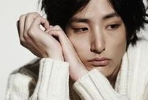 Inspiration: Lee Soo Hyuk /  Something about this model has caught my eye, not sure what it is, but  a possible character for a book.... He's got a nice, melancholy, fragility thing going on...  7-2014: So now I'm watching him in my  fave K-drama King of High School, which speaks to how long ago I started this board.