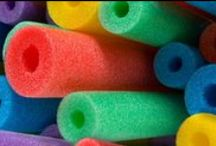 Creative Pool Noodle Ideas / What do you do when you have oodles of pool noodles? / by SwimWays