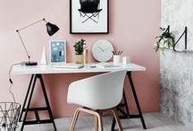 workspace / Inspirações de workspace, escritórios, estúdios, home office. Ideias de decor para workspace.