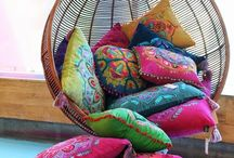 Cushions Blankets Rugs / There are so many decorative cushions and pillows all over the world. Those I see, I will collect here.
