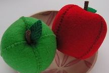 felt food: fruits + veggies / by A IM