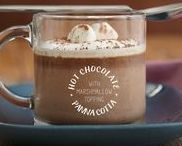 HOT CHOCOLATE RECIPES / Stay warm and cozy with a hot drink in hand and a load of marshmallows on top (of the drink that is haha).