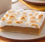 FALL RECIPES / Enjoy the flavor of fall with apples, pumpkins, caramel and more accompanied with your favorite marshmallows, Jet-Puffed Marshmallows.