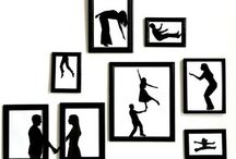 Picture Walls / Lovely ways to decorate your walls. / by Charismatic Soul