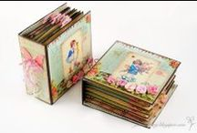 books - altered/create / clever ways to dress up a journal or simply create an altered masterpiece!