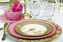Table Settings / by Maria Napoles de Bonet