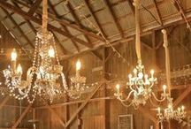 Lighting / I love chandeliers, and other beautiful ways to light a life.  A collection of lights.