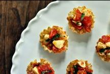 Appetizers / Appetizer ideas for those dinner parties we never seem to host.
