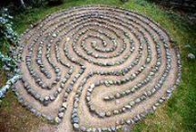 The making of a labyrinth / Ideas for the making of my labyrinth.
