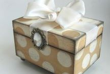 Boxes / all types of boxes:  altered, shadow, decorated . . . just plain beautiful to look at!