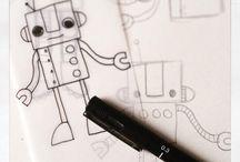 Blog / Het wekelijkse blog van Studio Stift; over het dagelijks leven van een illustrator. Met tekeningen, tutorials, dagelijkse beslommeringen, freebies en nog veel meer!