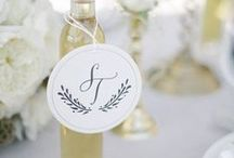 """Monogram Inspiration / """"My rule is, if it's not moving, monogram it."""" -Reese Witherspoon  / by Note Worthy"""