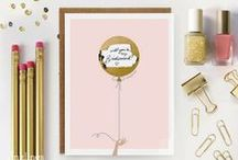 Wedding & Bridesmaid Gift Ideas / Note Worthy has great gift ideas for the bride and groom including monogrammed gifts!