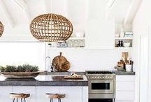 heart kitchen spaces / Home decor inspiration for kitchens and kitchen accessories.
