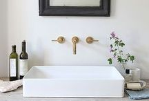 heart bathrooms / a collection of my favourite bathrooms  / by Meagan | Row House Nest
