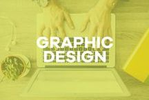 Graphic Design / design inspiration, typography, blog templates, fonts, clipart + more!