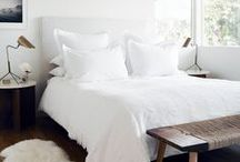 heart bedrooms / a beautiful mix of bedrooms that I love - boho, Scandi, monochrome galour  / by Meagan | Row House Nest