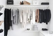 heart organization / who doesn't want to get more organized? Tips for getting organized, types of storage etc. Scandi, clean white inspired spaces.  / by Meagan | Row House Nest