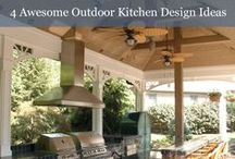 Outdoor | Kitchens / Retire the old charcoal grill on the deck. These exterior kitchens make it easy to grill in style!