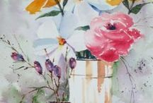 Flower & Still Life Watercolors by Jim Oberst