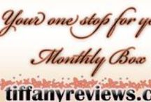 Monthly Subscription Boxes / Great Monthly boxes. Reviews, others reviews, & companies! / by Tiffany Reviews It All