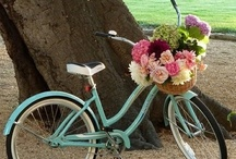 Bicycles & Bicycle Fun / I love vintage bicycles and the remakes of them are attractive too..so many memories of childhood and the fun we had on our bikes..:) / by Vintage Suzie ღ