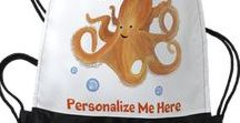 Octopus / Octopus Gift Ideas - Octopus clothing, home decor and products that are unique and some can be personalized.