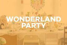 A Wonderland Party / Birthday party inspiration: alice in wonderland, wonderland, mad hatter, tea party, lewis carroll, disney.