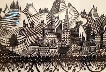 paper cutting / by Ilja Franken