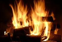 So Warm ... And Cozy /  Fireplace   / by Etta Stewart King