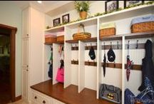 Home | Entries & Mudrooms / Ideas to contain the hallway clutter and welcome people into your home in style.