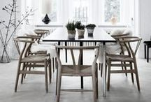 heart dining rooms and spaces / Dining and eating spaces  / by Meagan | Row House Nest