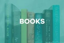 Books / book reviews, virtual book club, products for readers + more!