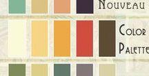Color Combinations / Paint colors: Color combinations I like for home, websites, front doors, interior walls, exterior walls, inspiring colors both neutrals and colors with kick!