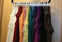 Organize / Fun ideas for organized, DIY ideas for organizing and unusual ways to organize.