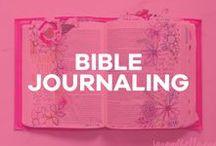 Bible Journaling / Illustrated Faith, bible journaling, faith journaling, bible journal, illustration, bible art, tutorials, free printables + more!