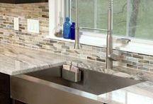 Kitchens | Backsplashes / Backsplash treatments for the busiest room in the house.