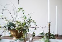 heart tablescape inspiration / stunning tablescapes and ideas for tabletop design / by Meagan | Row House Nest