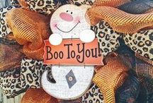 Boo To You! /  Halloween...  I love this holiday. Its a magical time where you can become a charater that you only dream about.   / by Carla Powell