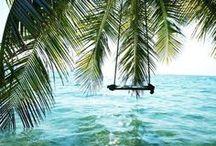 Summertime ☼ / L'été, les vacances, plage et soleil, sieste et balades, boissons fraîches, fruits, soirées, amis, ...... / by Lili Paris