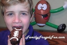 Super Bowl Party Ideas & Football Party Plans / Have a love of all things FOOTBALL? Well the party starts HERE! This board will help you with your party planing with crafts, food ideas, and football fun! / by Family Frugal Fun