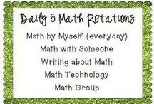Math Daily 3 / differentiating math / by Judy Helton