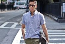 his style / Men's street fashion mixed with high fashion. What we wish our bf's were wearing