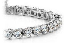Diamond Bracelets / Add some sparkle to your wrist with a diamond bracelet from brilliance.com. For more information about a specific piece, contact us at 1-866-737-0754 or service@brilliance.com