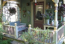 Camper ~ Sweet Cheeks   (Cottage-style) / Or maybe the Garden Cottage...lots of floral things, soft colors, painted furniture. / by Robin Mundy